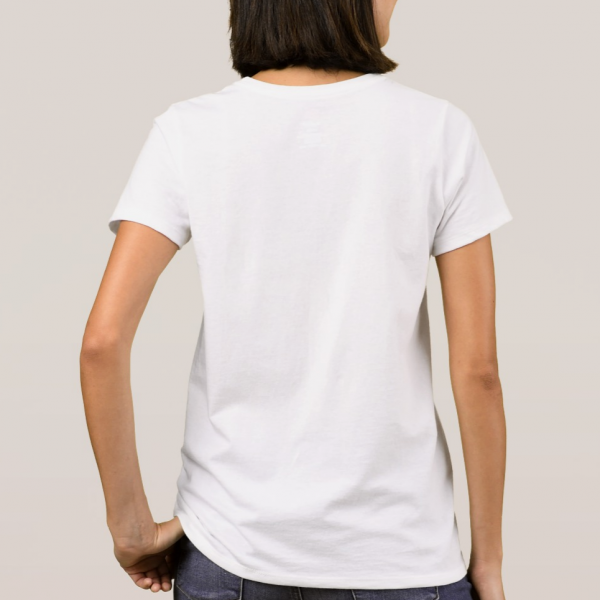 white tShirt back